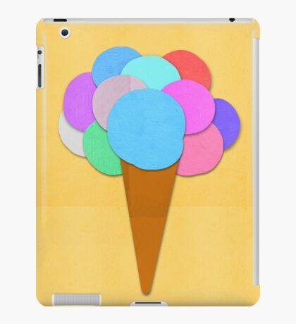 ice cream iPad Case/Skin