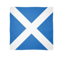 Flag of Scotland - High quality authentic version Scarf