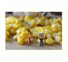 Be honest, Don…you've never really seen a corn maze, have you???? Art Print