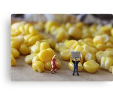 Be honest, Don…you've never really seen a corn maze, have you???? Canvas Print