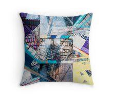 Urban Abstract II.c Throw Pillow