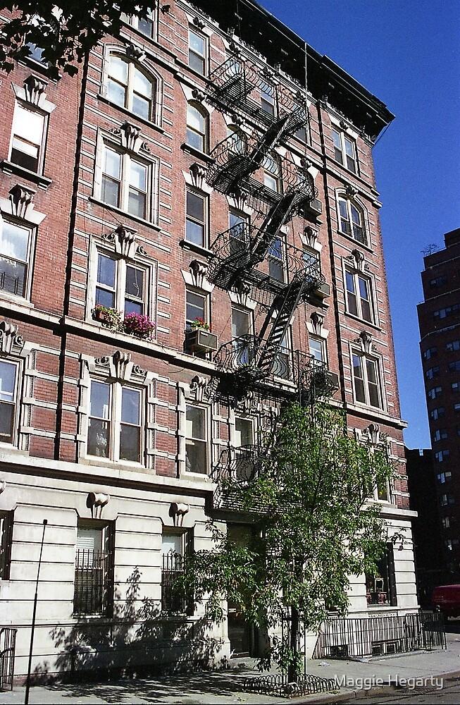 Apartment block, Greenwich Village by Maggie Hegarty