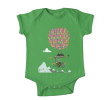 Riding A Bicycle Through The Mountains Kids Clothes