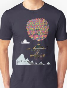 Riding A Bicycle Through The Mountains T-Shirt