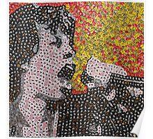 The Mick - Bottle Cap Mosaic Poster