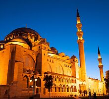 Mosque in Istanbul by FotoSanat