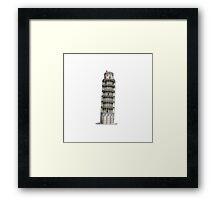 Leaning Tower of Pisa  Framed Print