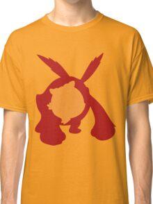 PKMN Silhouette - Darumaka Family Classic T-Shirt