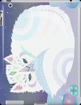 Arctic Fox by tiasakura