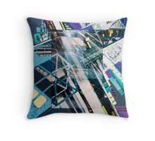 Urban Abstract I.a Throw Pillow