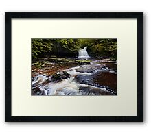 West Burton Falls (Cauldron Falls) - The Yorkshire Dales Framed Print