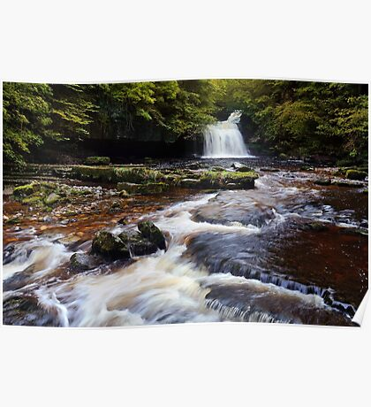 West Burton Falls (Cauldron Falls) - The Yorkshire Dales Poster