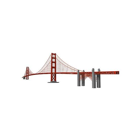 Golden Gate Bridge San Francisco by bradyarnold