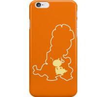 PKMN Silhouette - Scraggy Family iPhone Case/Skin