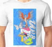 White Oleander Collage Unisex T-Shirt