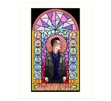 This is Gospel Stain Glass  Art Print