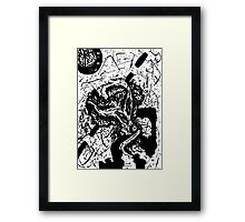 035 Framed Print