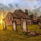 St Oswald at Sundown by Dave Godden
