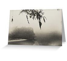 old fog Greeting Card