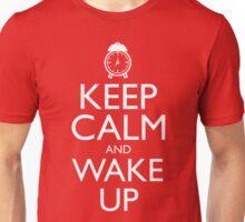 Discreetly Greek - Keep Calm and Wake Up Unisex T-Shirt