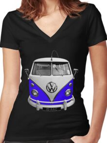 Isaac Women's Fitted V-Neck T-Shirt