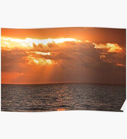 sunset... Poster