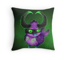 Demon Hunter Pepe Throw Pillow