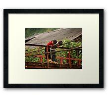 Children in Vietnam Framed Print