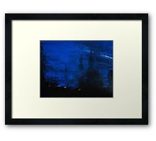 Rolling Through the Night Framed Print
