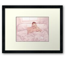 Stop Talking Framed Print