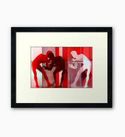 Body Language 38 Framed Print