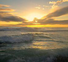 twlight beach by Tgarlick