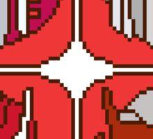 Pixel Ratchet[s] Sticker