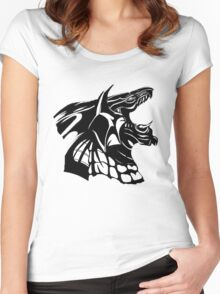 Bahamut Women's Fitted Scoop T-Shirt