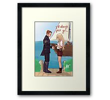 I'll always pick you Framed Print