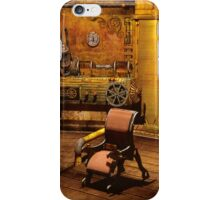 Steampunk Time Machine iPhone Case/Skin