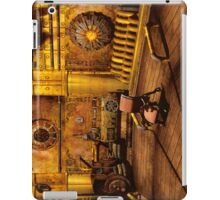 Steampunk Time Machine iPad Case/Skin