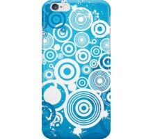 Colorful Modern Abstract Geometric Circle Pattern iPhone Case/Skin
