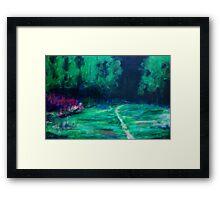 Dark Treeline Framed Print