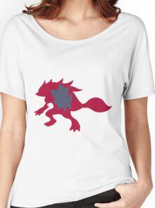 PKMN Silhouette - Zorua Family Women's Relaxed Fit T-Shirt