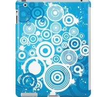 Colorful Modern Abstract Geometric Circle Pattern iPad Case/Skin