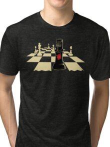 none shall pass Tri-blend T-Shirt