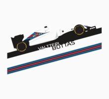Formula 1 Williams Racing FW37 Valtteri Bottas Kids Clothes