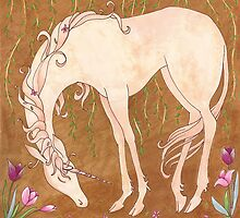A Flowery Unicorn by Michelle Tribble