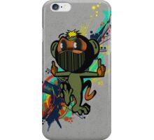 ninja monkey iPhone Case/Skin