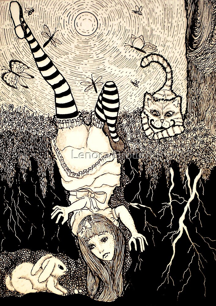 Down The Rabbit Hole by Lenora Brown