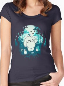My Neighbor Baymax Women's Fitted Scoop T-Shirt