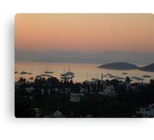 Sunrise @ Turkbuku Canvas Print