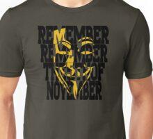 5th of nov Unisex T-Shirt