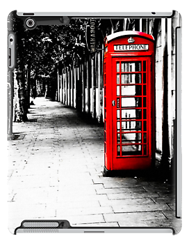 London Calling - Iconic British Phone Box by Mark Tisdale